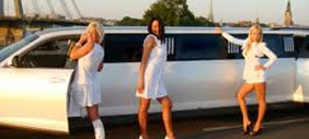 Limousine huren met striptease in Laren