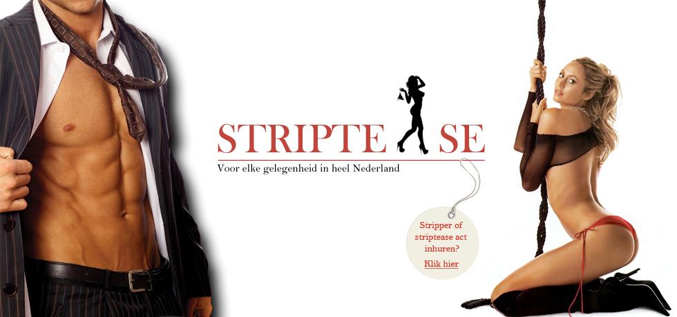 Stripper en striptease